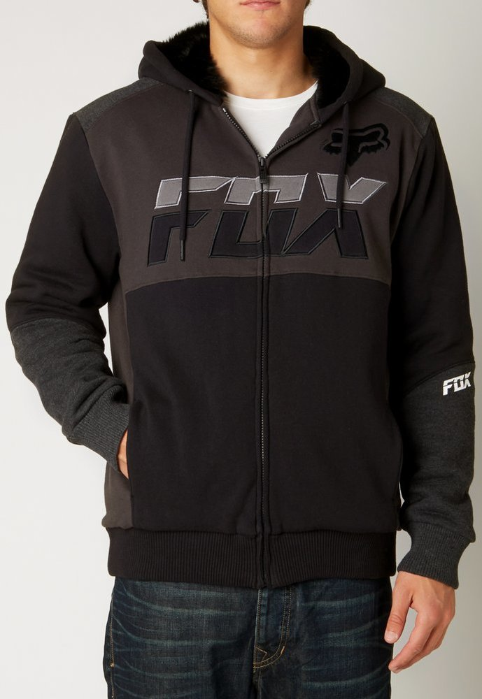 Fox racing fur hoodies