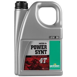 Motorex Power Synt 4T Full Synthetic Oil For 4-Stroke Engines10W50 4 Liter