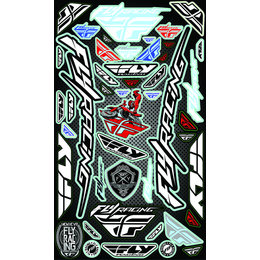 Multi Fly Racing Logo Sticker Decal Sheet 2015
