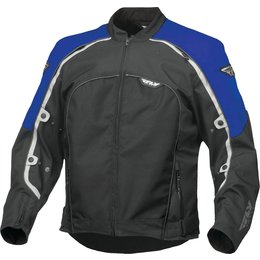 Fly Racing Mens Butane 4 Textile Jacket Blue