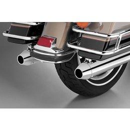 Chrome Supertrapp Kerker Exhaust End Cap Tapered