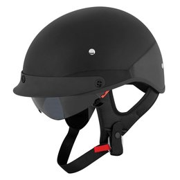 Speed & Strength SS410 Solid Speed Half Helmet Black