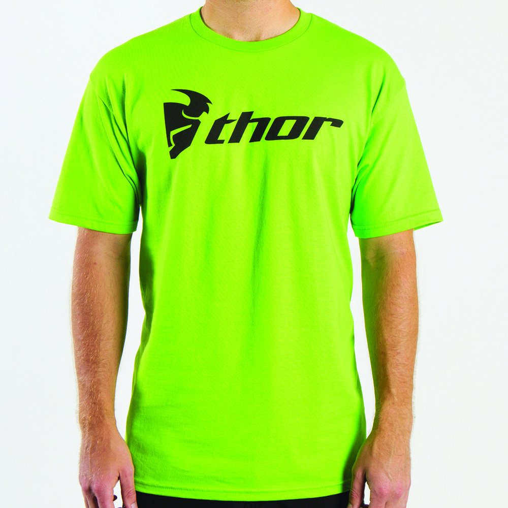 Thor mens loud n proud t shirt 2014 xx large lime green for Neon green shirts for men