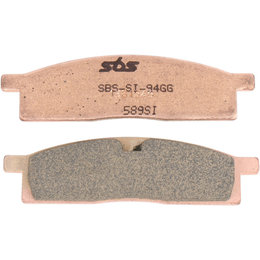 SBS Off Road SI Sintered Front Brake Pads Single Set Only Yamaha YZ80 589SI Unpainted