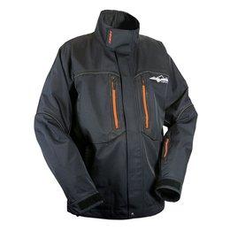 Black Hmk Mens Tall Cascade Textile Snow Jacket
