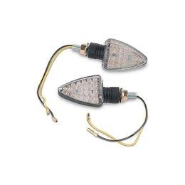 K&S Technologies Marker Lights LED Mini Stalk Short-Stem Black