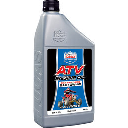 Lucas Oil Semi-Synthetic ATV Engine Oil 10W-40 32 Oz 10720 Unpainted