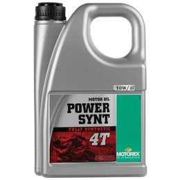 Motorex Power Synt 4T Full Synthetic Oil For 4-Stroke Engines 10W60 4 Liter