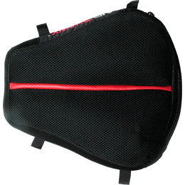 Airhawk Dual Sport Motorcycle Comfort Seat Cushion With Cover 11.5 X 11 Inch Black