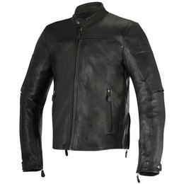 Alpinestars Mens Brera Armored Leather Jacket Black