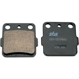 SBS ATV Off Road SI Sintered Brake Pads Single Set Honda Kawasaki Yamaha 592SI Unpainted