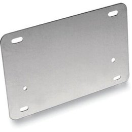 Stainless Steel Barnett License Backing Plate 4 X 7 In