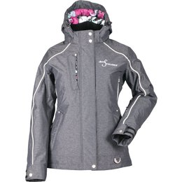 Divas Womens Lily Collection Snow Jacket Black