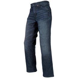 Klim Mens K Fifty 1 Armored Cordura Denim Jean Riding Pants Blue
