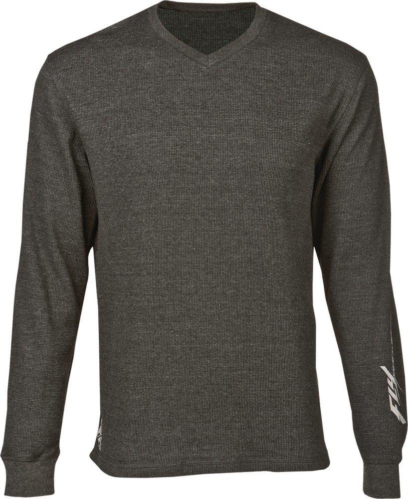 Fly racing mens long sleeve thermal t shirt 2015 for Mens black thermal t shirts