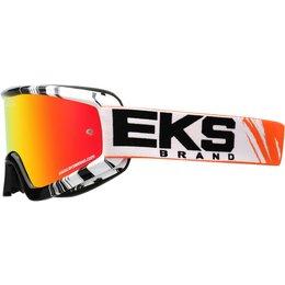 EKS Brand GOX X-Fade Phantom Goggles Black