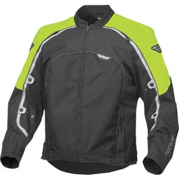 Fly Racing Mens Butane 4 Textile Jacket Yellow