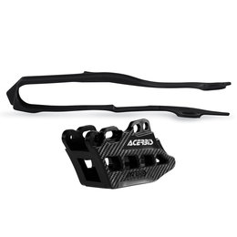 Acerbis Chain Guide And Slider Kit 2.0 For Honda CRF250R CRF450R Black