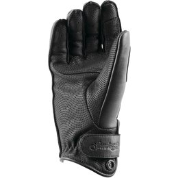 Speed & Strength Womens Black Heart Leather Riding Gloves Black