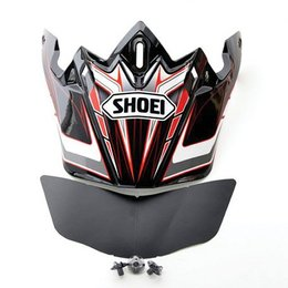 Red Shoei Replacement Visor For Vfx-w Malice Helmet