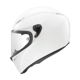 AGV GT Veloce Solid Full Face Helmet White