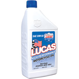 Lucas Oil High Perforamnce Oil 20W-50 32 Ounce 10700 Unpainted