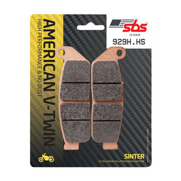 SBS Sinter Front Brake Pads Single Set Only Indian Scout Sixty Scout 929H.HS Unpainted