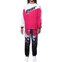 Thor Toddler Girls Tilt 2 Piece Pajamas Pink