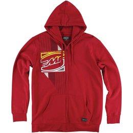 FMF Mens Crashbox Zip Hoody Red