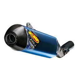 Titanium Muffler/carbon Fiber End Cap Fmf Factory 4.1 Rct Slip-on Exhaust Ti Cf For Suzuki Rm-z250 2010-2012