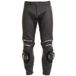 RST Mens Tractech Evo II Armored Leather Sport Motorcycle Riding Pants Black