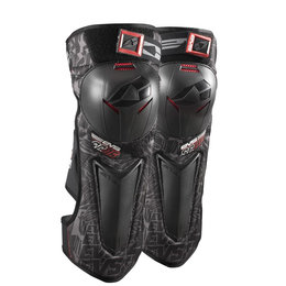 Black, Red Evs Sc06 Knee Shin Guards 2014 Pair Black Red