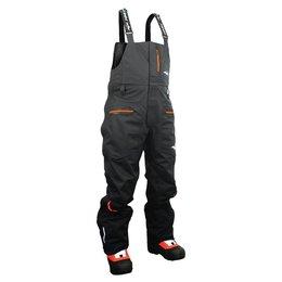 Black Hmk Mens Tall Cascade Textile Bib Snow Pants