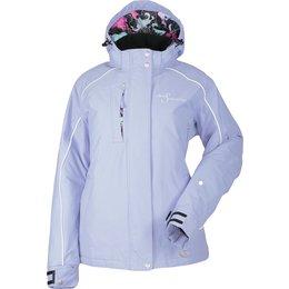 Divas Womens Lily Collection Snow Jacket Purple