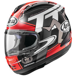Arai Corsair X Limited Edition 2018 Isle Of Man IOM TT Full Face Helmet Red