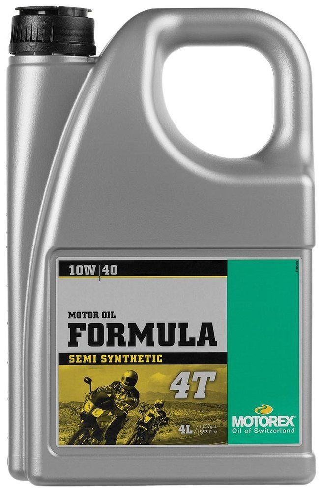 Motorex formula 4t semi synthetic oil for 4 stroke for Top rated motor oil synthetic