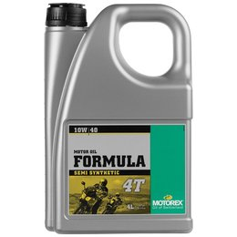 Motorex Formula 4T Semi Synthetic Oil For 4-Stroke Engines 10W40 4 Liter