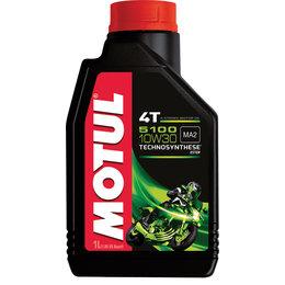 Motul 5100 4T Synthetic Blend 4-Stroke Engine Oil 10W30 1 Liter
