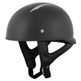 Speed & Strength SS310 Solid Speed Half Helmet Black