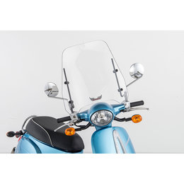 Slipstreamer CH-250 Scooter Windshield For Honda Elite 250 CH250 S-SCTR60-M Transparent