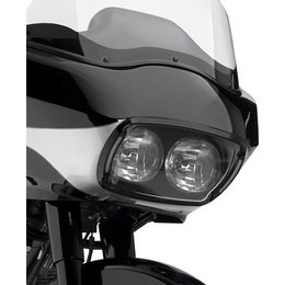 Black Cycle Visions Illumabezel With Smoke Lens Fltr 98-09