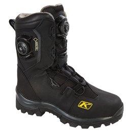 Adrenaline Mens GTX BOA Gore-Tex Insulated Snowmobile Boots Black