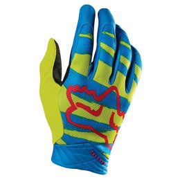 Fox Racing Mens Marz Airline Gloves 2015 Yellow