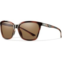 Smith Optics Womens Colette Polarized Carbonic TLT Sunglasses Brown