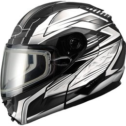 GMax GM64S Carbide Modular Snow Helmet With Dual Pane Shield Black