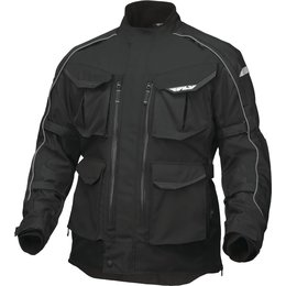 Fly Racing Mens Terra Trek 4 Textile Jacket Black