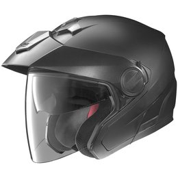 Flat Black Nolan N40 N-40 Open Face Helmet