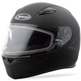 GMAX FF49 FF-49 Snowmobile Helmet With Dual Pane Shield Black