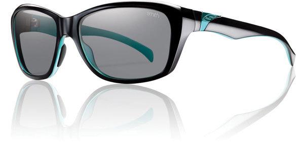 smith sunglasses uxz4  Black Lagoon, Grey Polarized Smith Optics Womens Spree Sunglasses Black  Lagoon Grey Polarized One Size