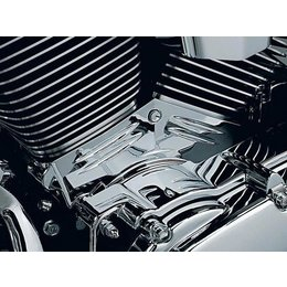 Kuryakyn Cylinder Base Cover Chrome For Harley Twin Cam